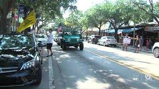 Protests held in South Florida over coronavirus shutdown