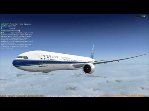 [FSX] PMDG 777-300ER | Guangzhou (ZGGG) to Beijing (ZBAA) Part 2