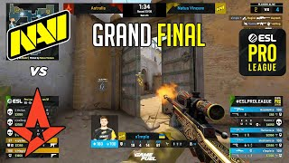 GRAND FINAL! Astralis vs NaVi - ESL Pro League - HIGHLIGHTS l CSGO