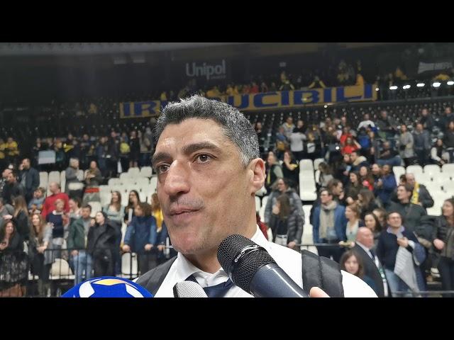 Giani dopo la sconfitta con Perugia