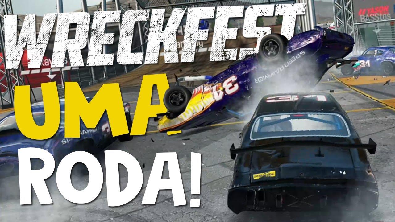 Ganhando Com Uma Roda A Menos No Wreckfest !