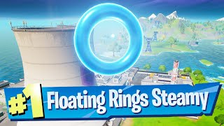 Collect Floating Rings at Steamy Stacks Location - Fortnite Battle Royale