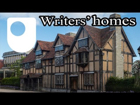 Why do we visit writers' homes?
