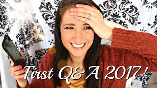 FIRST Q&A 2017♡(MORE KIDS?MOVED?LINGERIE?)(Emily Mattingly) #AskEmigall