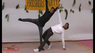Commerce VS Science Student || Kitni Baatein Yaad Aati Hai Dance.|| collage program