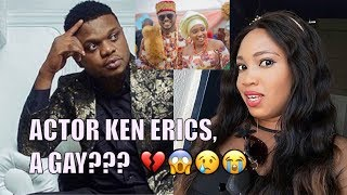 Nollywood Actor Ken Erics speaks on why he abandoned his wife of 2 years Onyi Adaba