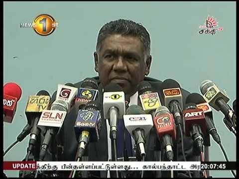 News 1st Prime time 8PM  Shakthi TV 30th March 2016