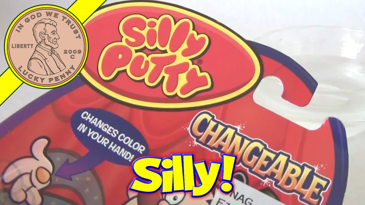 color changing classic silly putty toy bounce mold stretch