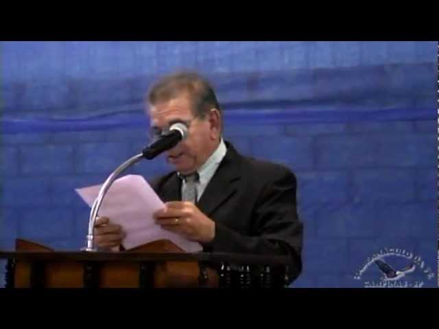 10.05.2013 - Encontro Regional de Pastores em Mogi Mirim/SP - Pr. José Aparecido