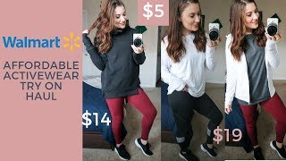 WALMART AFFORDABLE ACTIVEWEAR / ATHLEISURE TRY ON HAUL thumbnail