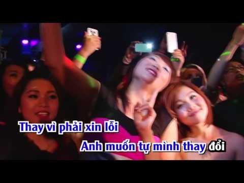 [Karaoke FHD] Nếu Em Còn Tồn Tại Remix - Trịnh Đình Quang Full Beat