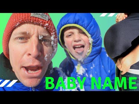 baby-name-reveal-+-sledding-cross-training