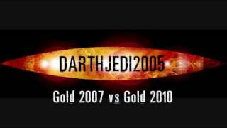 Doctor Who - Gold 2007 vs Gold 2010