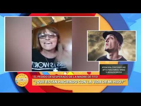 Pedido desesperado de ayuda de la madre de Tito, cantante de 'La liga'