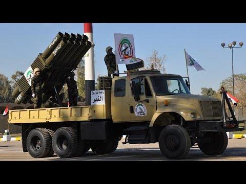 عرض عسكري في بغداد احتفالا بالانتصار على تنظيم -الدولة الإسلامية-
