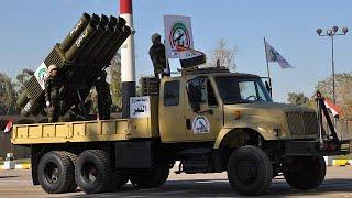 عرض عسكري في بغداد احتفالا بالانتصار على تنظيم