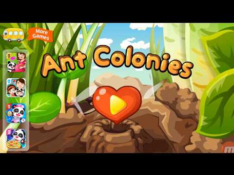 Ant Colonies - Baby Game - Kids game -Funny game || play kids game || Babiies and kids game