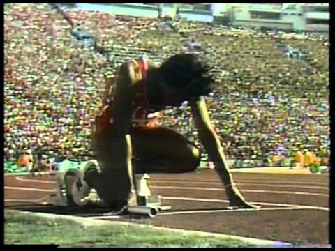 Olympics - 1984 Los Angeles - Track - Womens 4 x 400m Relay Finals - USA Gold  imasportsphile