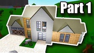 Edificio Tutorial: Casa Moderna (54K) • Roblox - BloxBurg • Parte 1