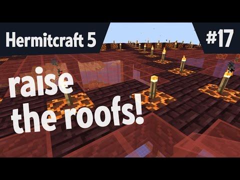 Raise the roofs! — Hermitcraft 5 ep 17