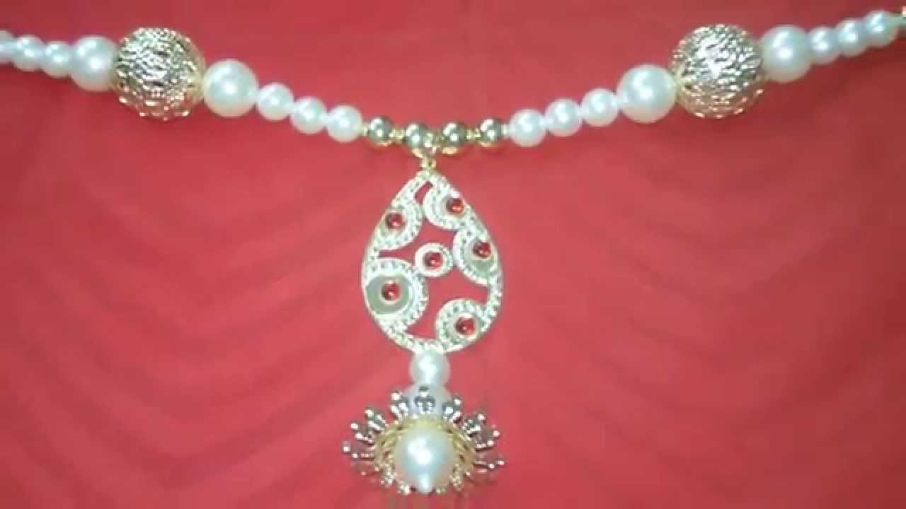 & Beautiful Pearl TORAN / BANDANWAAR / DOOR HANGING - YouTube