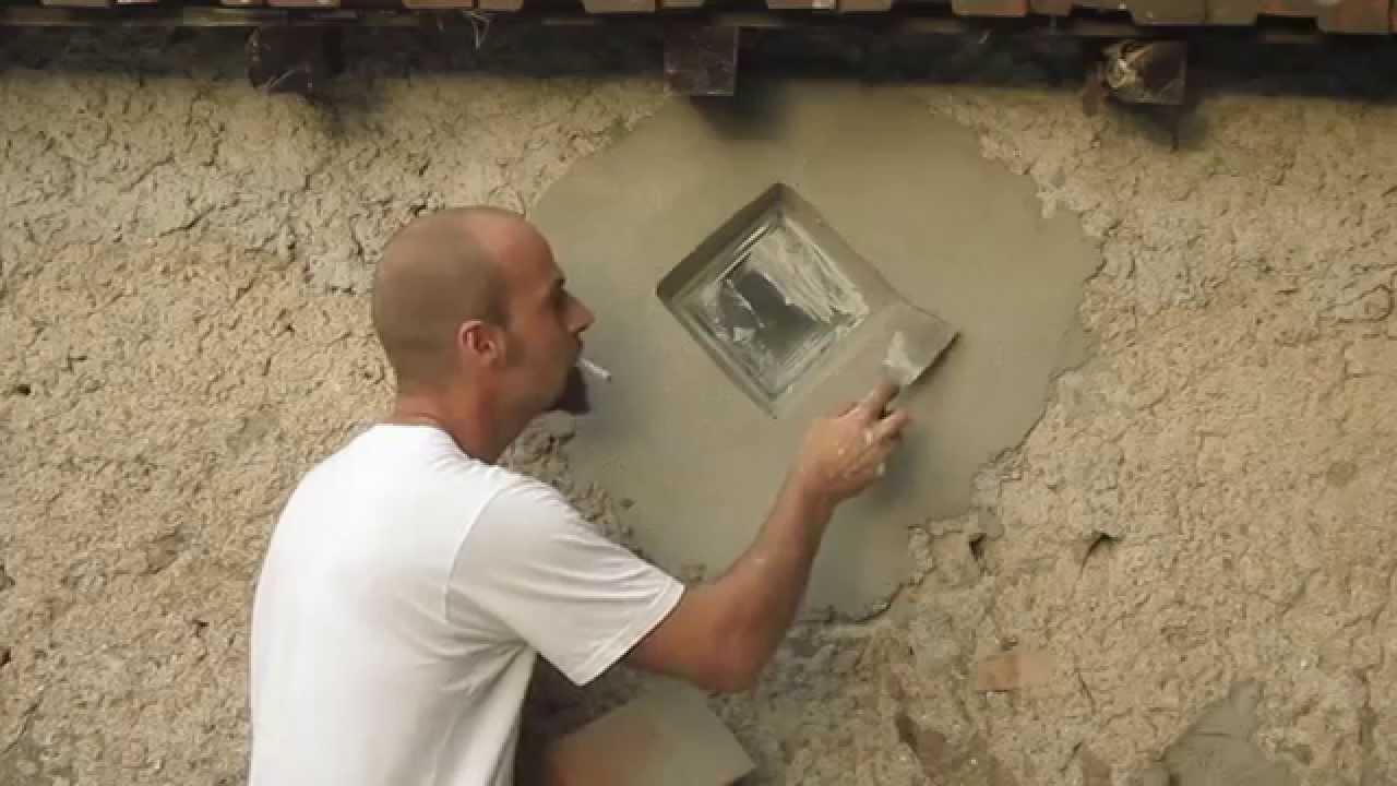 Muratura itinerante tutorial intonacare creativamente youtube - Miglior materiale per finestre ...