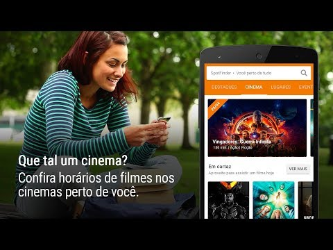 SpotFinder: Cinema shows turismo e novos lugares