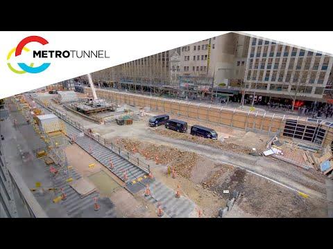 Metro Tunnel - October construction update