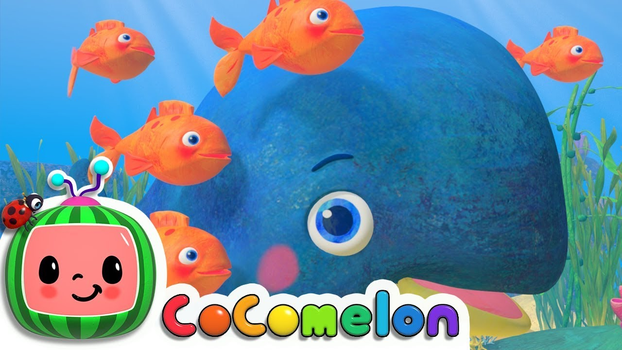 Baby Blue Whale Song | CoCoMelon Nursery Rhymes & Kids Songs