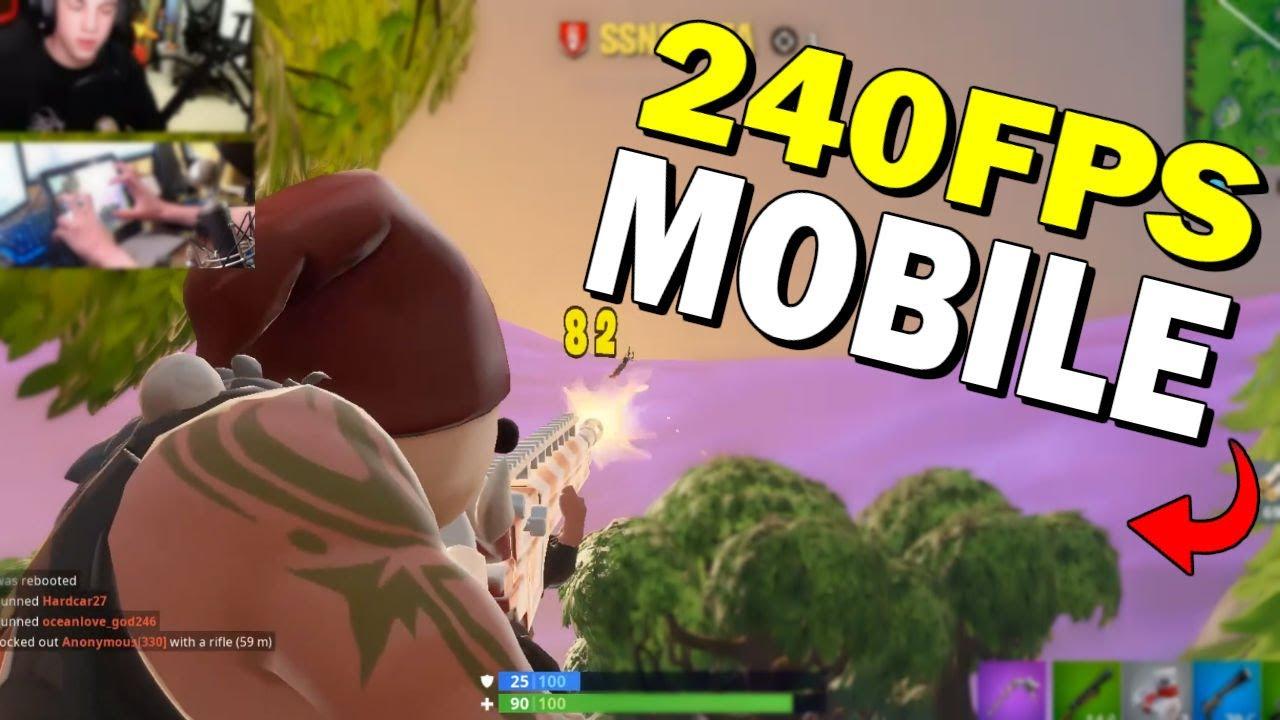 240 FPS on Fortnite Mobile!