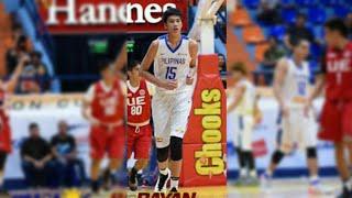Kai Sotto Blocks and dunks : Gilas Cadets Debut