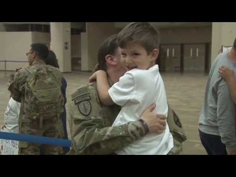 Soldiers From 1st SFAB Return Home