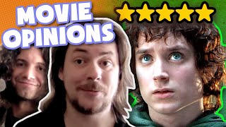 We watch a compilation where we talk about MOVIES - Game Grumps Compilations