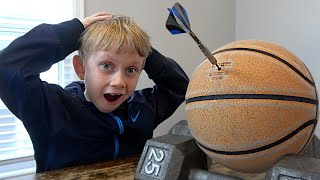 Amazing 7 Year Old Trick Shots | That's Amazing