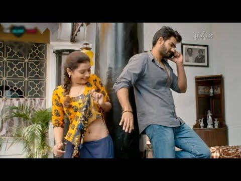 Hot💥love❤status with inji idupazhagi song💕tamil