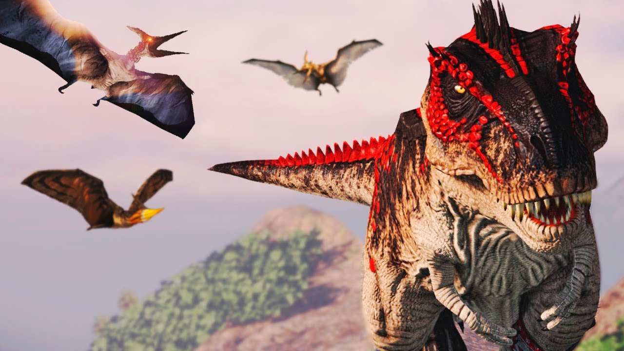 Download Grande Rex + Supremo Acrocantossauro! Dinossauros Hardcore   Primal Carnage: Extinction   (PT/BR)