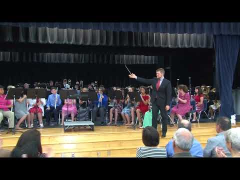 Lopez Middle School Beginner Band, Final Concert, May 22, 2018