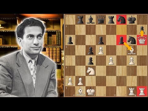 """Can You Spot """"The Tal Move"""" that Won the 1957 USSR Championship?"""