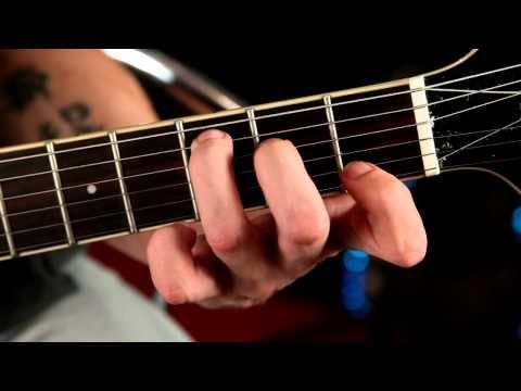 [Anfängerkurs18] Akkorde / Griffe auf Gitarre lernen - A-Moll - C-Dur , E-Dur , E-Moll [Tutorial]