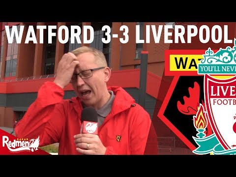 Terrible Defending Cost Us Again | Watford v Liverpool 3-3 |  Match Reaction