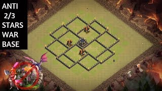 NEW BEST TOWN HALL TH 8 WAR BASE 2018 ANTI 2 3 STAR WAR BASE CLASH OF CLANS