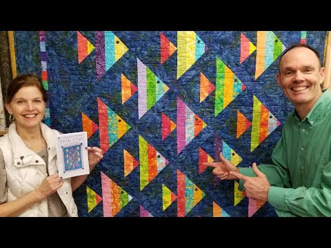 1 Fish, 2 Fish! | Finished Quilt Giveaway :)