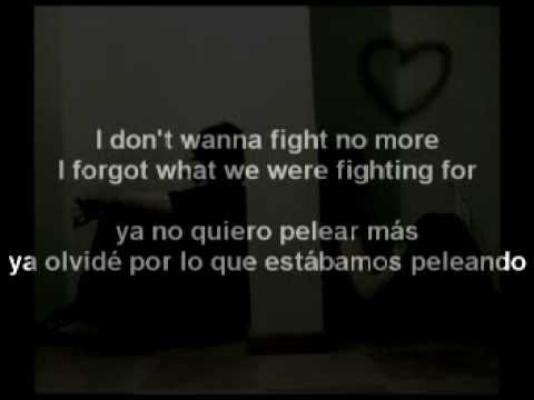 Westlife - I Don't Wanna Fight (Letra En Español)