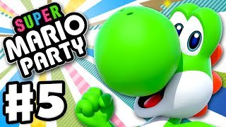 Super Mario Party - Gameplay Walkthrough Part 5 - Sound Stage and Toad's Rec Room! (Nintendo Switch)