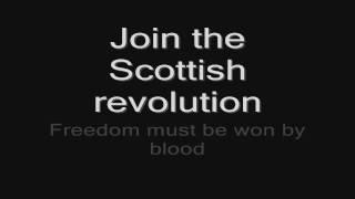 Sabaton - Blood Of Bannockburn (lyrics) HD