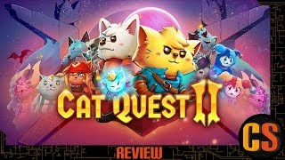 CAT QUEST II - REVIEW (Video Game Video Review)