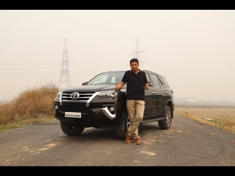 Toyota Fortuner English Review - See why it's the KING of SUVs