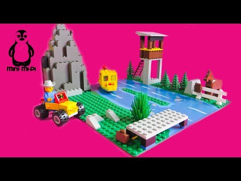LEGO® SYSTEM 6552 Rocky River Retreat | #4 | Speed build