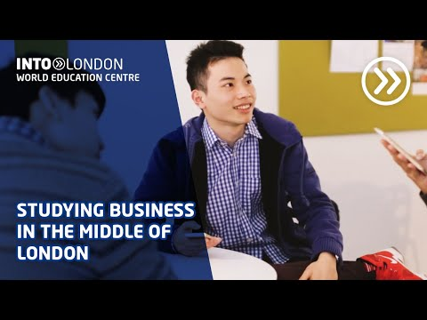 International Year One in Business at INTO London World Education Centre