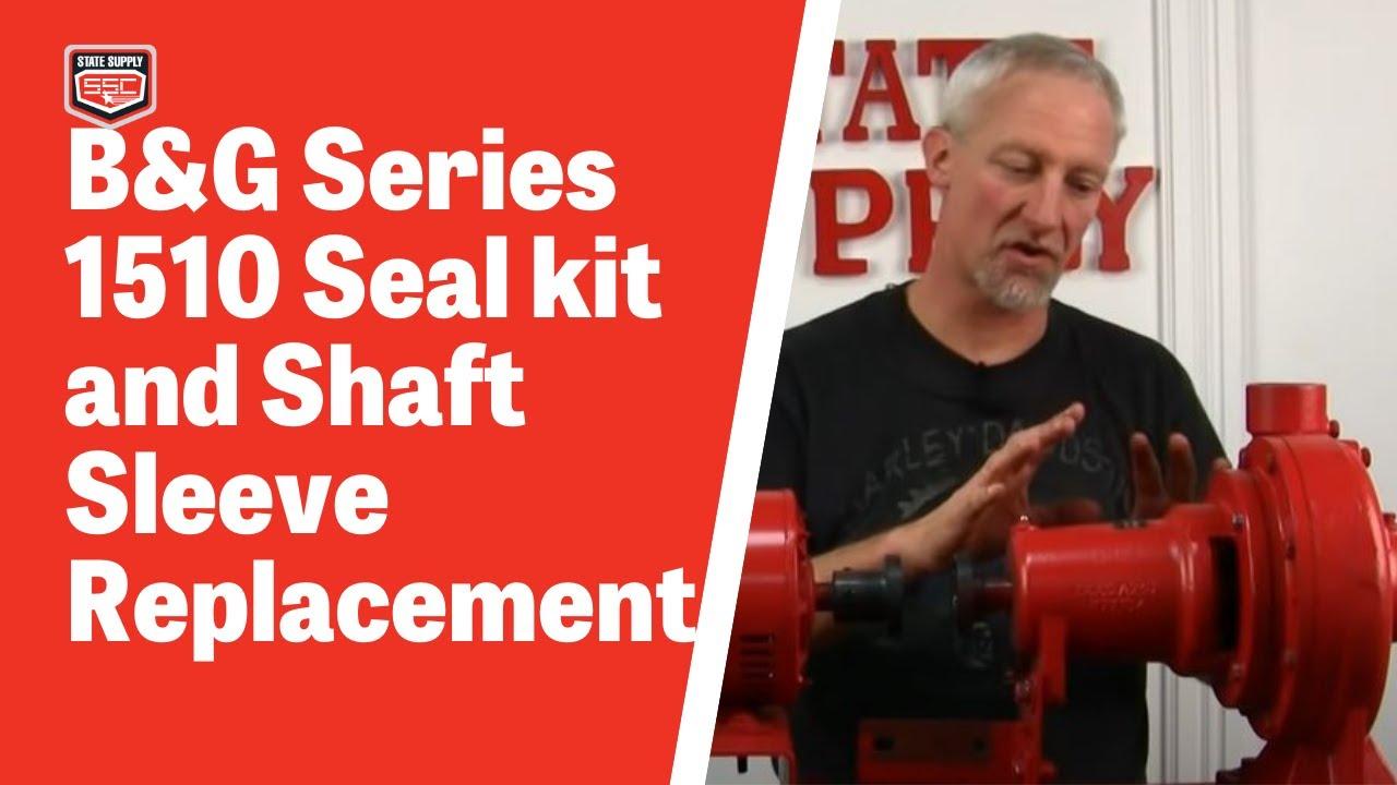 Bell gossett series seal kit and shaft sleeve